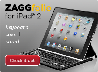 Check out the ZAGGfolio