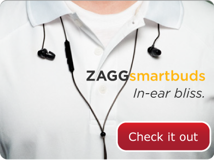Check out the ZAGGsmartbuds